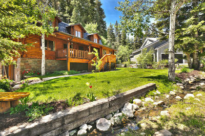 Park City Single Family Home For Sale: 525 Aspen Drive
