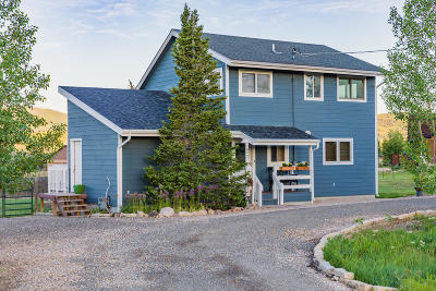 Park City Single Family Home For Sale: 472 Wasatch Way