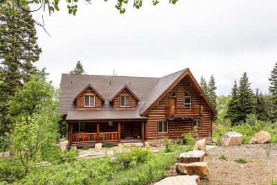 Wanship, Hoytsville, Coalville, Echo, Henefer Single Family Home For Sale: 494 W Forgotten Lane