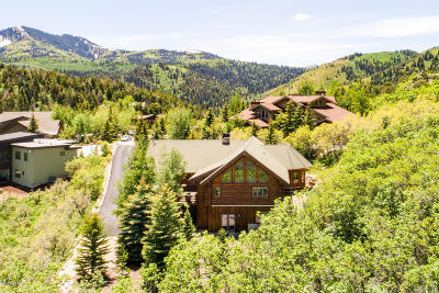 Park City Single Family Home For Sale: 6874 Saddle Court