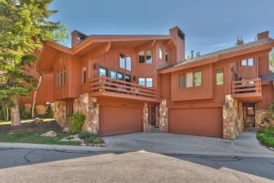 Park City Condo/Townhouse For Sale: 7480 Ridge Drive #4