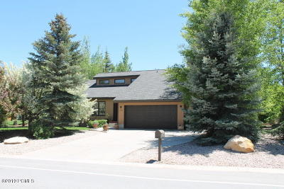 Park City Single Family Home For Sale: 4928 Silver Springs Road