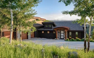 Park City Single Family Home For Sale: 2142 E Canyon Gate