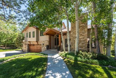Park City Single Family Home For Sale: 3320 Mountain Lane