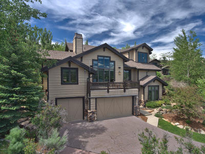 Park City Single Family Home For Sale: 3139 Meadows Drive