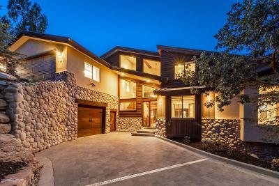 Park City Single Family Home For Sale: 7430 Buckboard Drive