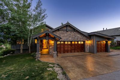 Park City Single Family Home For Sale: 8978 Northcove Drive