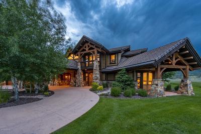 Park City UT Single Family Home For Sale: $3,995,000
