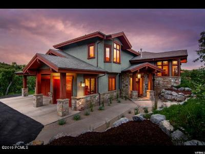 Park City Single Family Home For Sale: 4278 Moosehollow Road