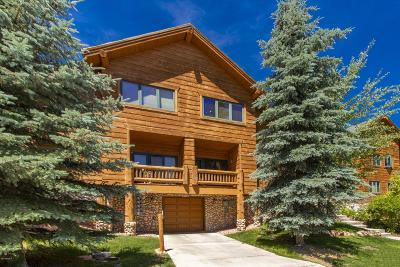 Park City Condo/Townhouse For Sale: 3975 N Timber Wolf Lane #2a