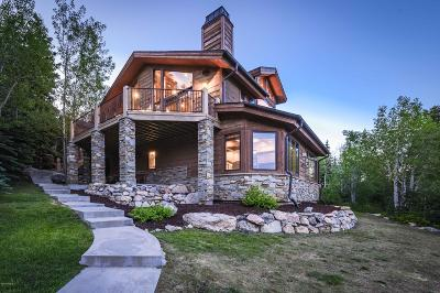 Park City Single Family Home For Sale: 326 Centennial Circle