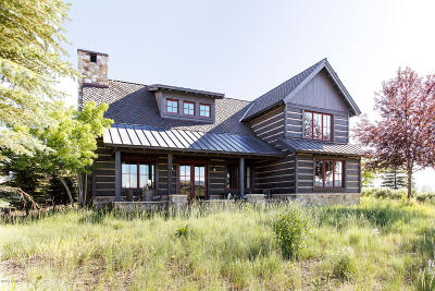 Park City Single Family Home For Sale: 8192 Western Sky