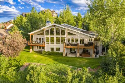 Park City Single Family Home For Sale: 3374 W Homestead Road
