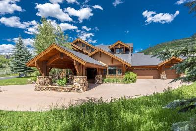 Park City Single Family Home For Sale: 3700 Solamere Drive