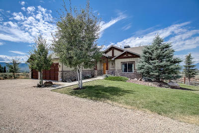 Heber City Single Family Home For Sale: 3875 Greener Hills Drive