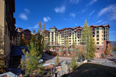 Park City Condo/Townhouse For Sale: 3855 Grand Summit Drive #346