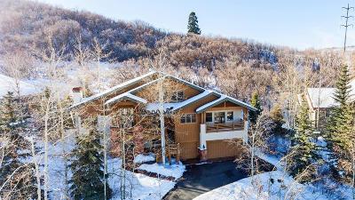 Park City Single Family Home For Sale: 3768 Sunridge Drive