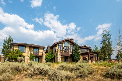 Park City Single Family Home For Sale: 7911 N West Hills Trail