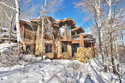 Park City Single Family Home For Sale: 8340 N Promontory Ranch Road