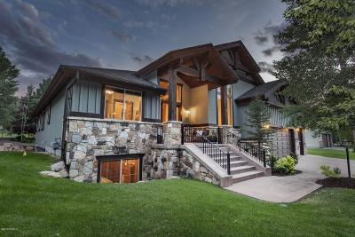 Park City Single Family Home For Sale: 3125 Creek Road