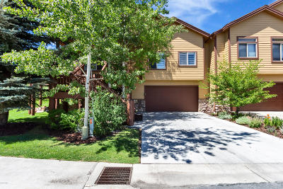 Park City Condo/Townhouse For Sale: 3943 View Pointe Drive