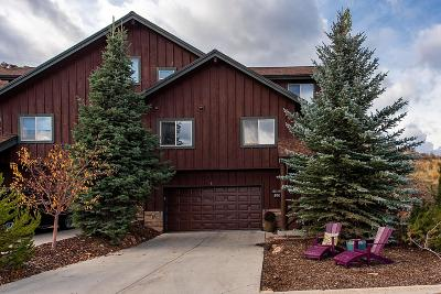 Park City Condo/Townhouse For Sale: 5256 Cove Canyon Drive #B