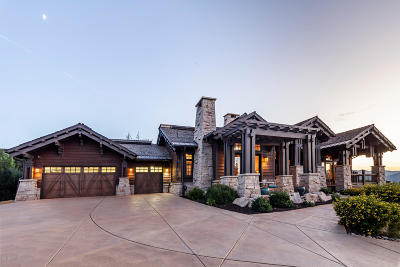 Tuhaye, Red Ledges Single Family Home For Sale: 9393 N Uinta Drive