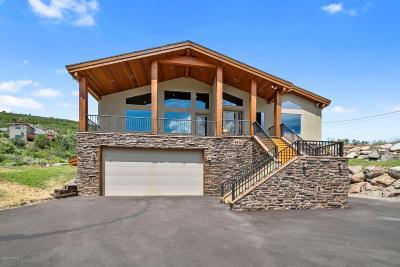 Park City Single Family Home For Sale: 8815 Gorgoza Drive