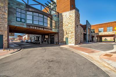 Park City Condo/Townhouse For Sale: 1476 W Newpark Boulevard #403