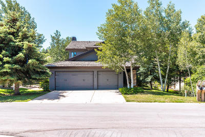 Park City Single Family Home For Sale: 1648 W Silver Springs Road