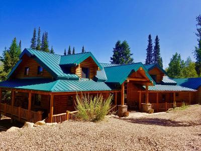 Oakley, Peoa Single Family Home For Sale: 9714 Blue Spruce Drive