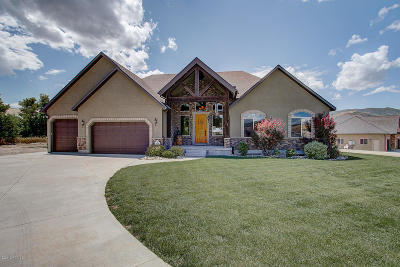 Coalville UT Single Family Home For Sale: $649,000
