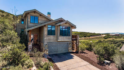 Single Family Home For Sale: 10746 N Hideout Trail