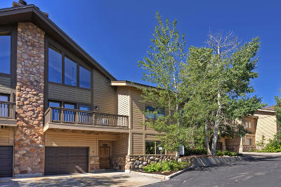 Park City Condo/Townhouse For Sale: 1350 Deer Valley Drive