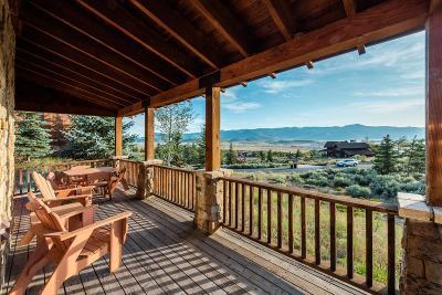 Park City Single Family Home For Sale: 8001 Western Sky