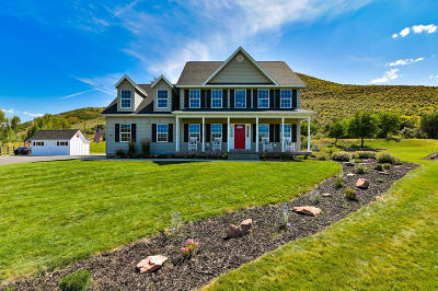 Oakley, Peoa Single Family Home For Sale: 4210 Browns Canyon Road
