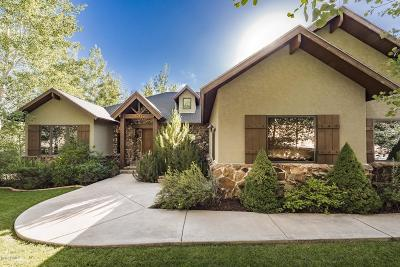 Park City Single Family Home For Sale: 3527 Daybreaker Drive