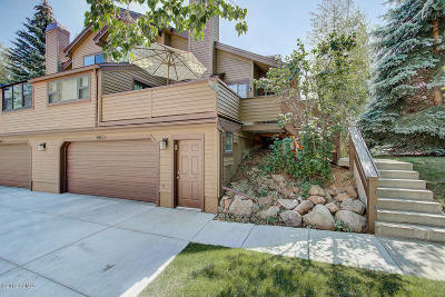 Park City Condo/Townhouse For Sale: 3065 Elk Run Drive