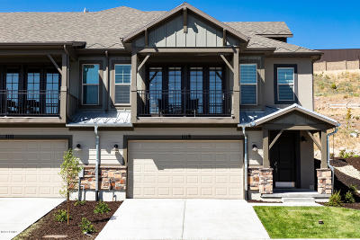Heber City Condo/Townhouse For Sale: 1122 W Wasatch Springs Road #S5
