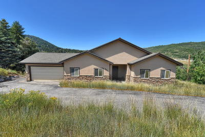 Park City Single Family Home For Sale: 7871 Douglas Drive