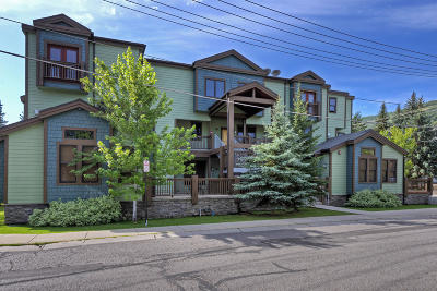 Park City Condo/Townhouse For Sale: 1499 Park Avenue #10