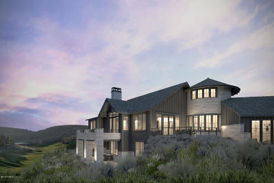 Park City Single Family Home For Sale: 9272 Dye Cabins Drive