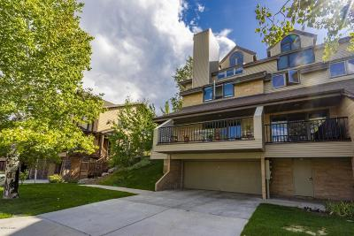 Park City Condo/Townhouse For Sale: 3285 Lower Saddleback Road #3a