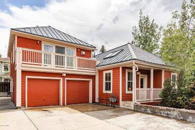 Park City Single Family Home For Sale: 1488 Park Avenue
