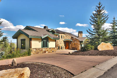 Park City Single Family Home For Sale: 4671 Nelson Court