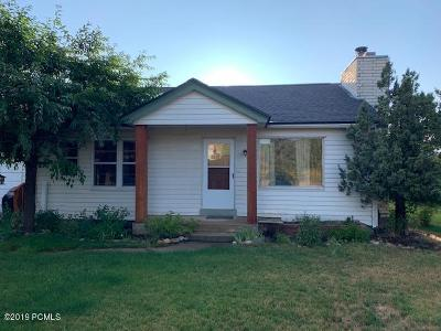 Single Family Home For Sale: 320 S 100 E Street