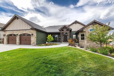 Park City Single Family Home For Sale: 6191 Parkridge Drive