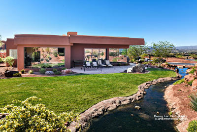 St George Single Family Home For Sale: 2331 W Entrada Trail # 106