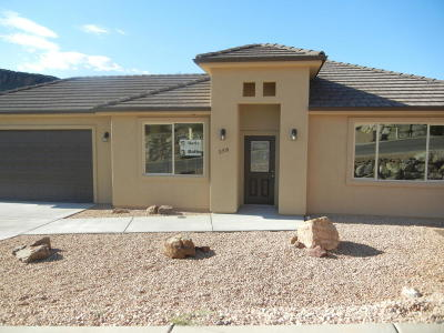 Hurricane Single Family Home For Sale: 358 E 860 N