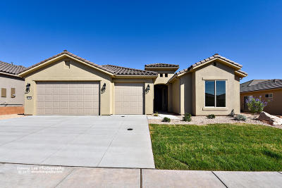 St George Single Family Home For Sale: 1392 W Grapevine Dr